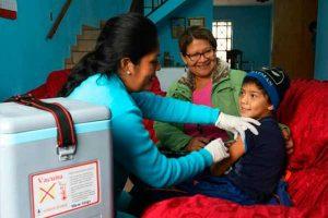 Cobertura de vacunación sufre retroceso en Perú