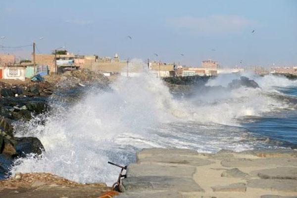 Áncash: 11 puertos cerrados temporalmente por oleajes anómalos