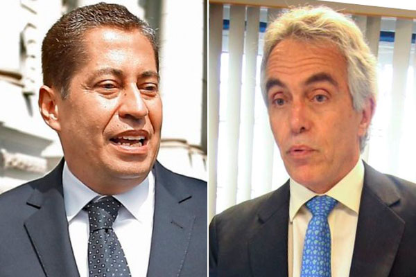 """""""Ojitos"""" Espinoza Saldaña quiere ser García Sayán II"""