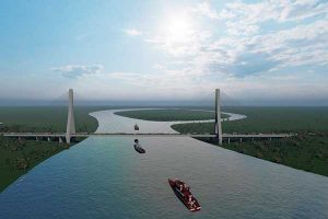 Un canal de Panamá en Sudamérica