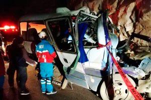 Canta: Cúster que causó accidente no contaba con autorización del MTC
