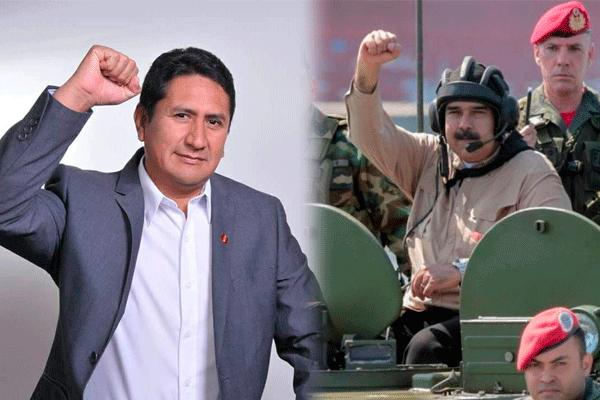 Vladimir Cerrón 'en sus trece': Nicolás Maduro es un presidente democrático