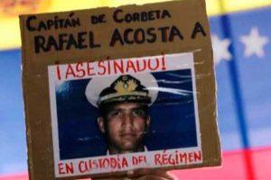 Gobierno chavista entierra a militar muerto en custodia