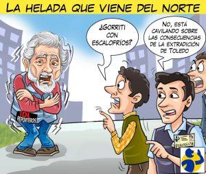 LA HELADA QUE VIENE DEL NORTE, por El Montonero