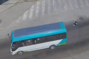 "Bus del ""Chosicano"" atropella a un menor en la Carretera Central"
