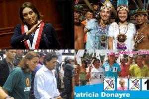 Patricia Donayre 'bate récord' de haber pertenecido a más grupos políticos
