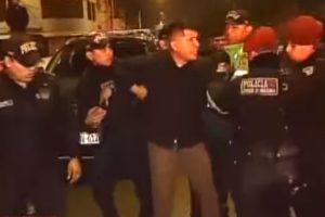 Sujetos en estado de ebriedad agreden a policías en intervención