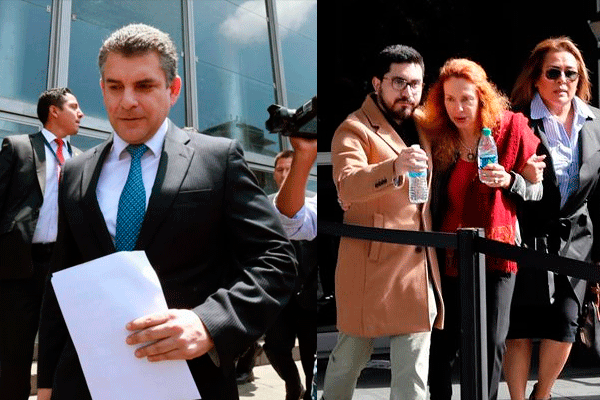 Eliane Karp irrumpió contra el fiscal Rafael Vela