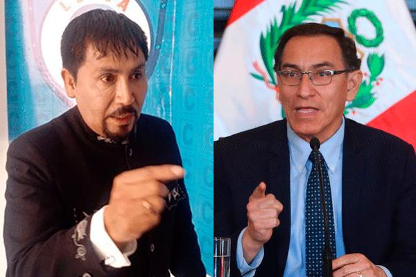 """Cáceres Llica: """"Presidente, hay que trabajar, deje de pelearse con el Congreso"""""""