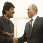 Evo Morales se reúne con Putin para inversiones en gas en Bolivia