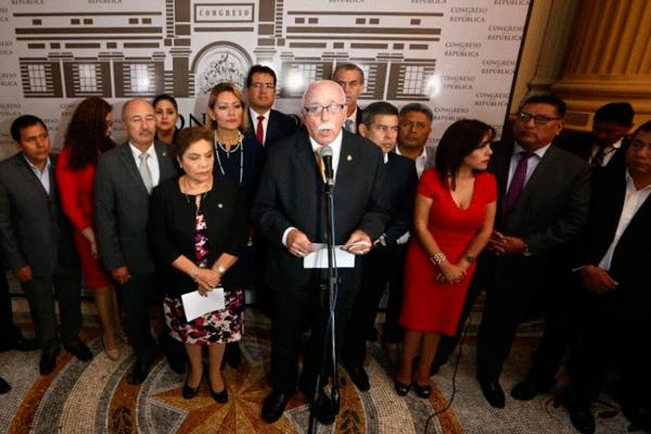 Fuerza Popular rechaza acusación de organización criminal hecha por Domingo Pérez