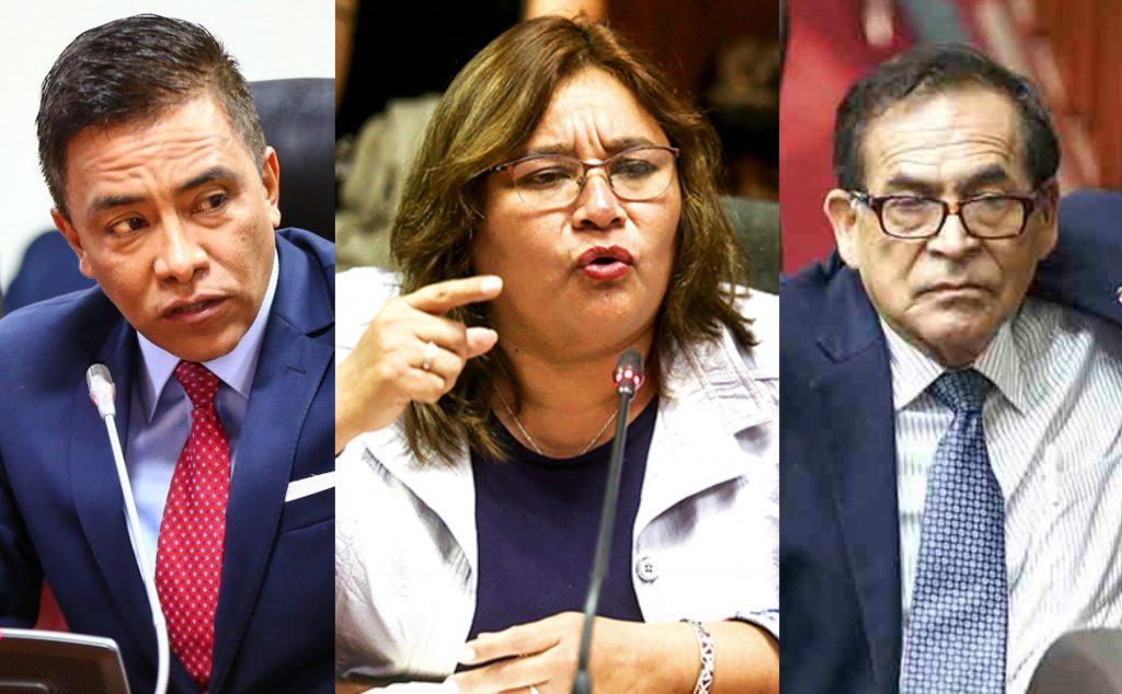 Janet Sánchez denunciará a Roberto Vieira y Alberto Quintanilla