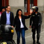Keiko Fujimori se pronuncia sobre huelga de hambre de Mark Vito