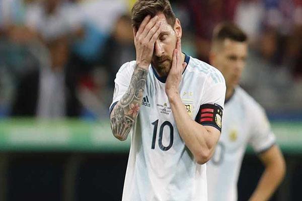 Conmebol sanciona a Messi con un partido y una multa económica por lo sucedido en el partido ante Chile