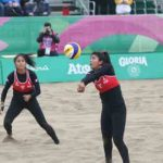 Perú cayó 2-0 ante Cuba en el vóley playa femenino