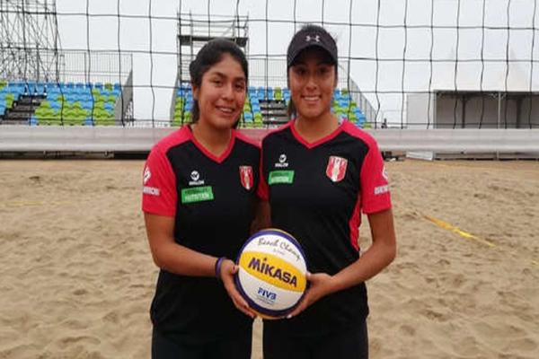 Perú vence a El Salvador por la primera fecha del vóley playa femenino