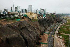 Costa Verde: declaran en emergencia los acantilados por el plazo de 60 días
