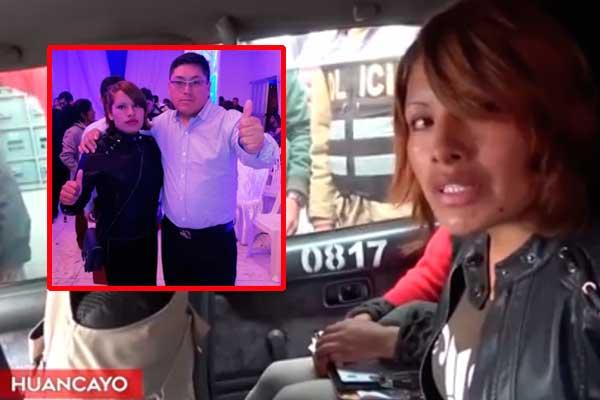 Huancayo: Mujer fue para denunciar agresión y queda detenida por asesinato