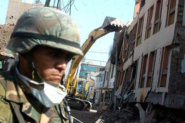 Alta probabilidad de sismo de magnitud 8.5, señala el IGP