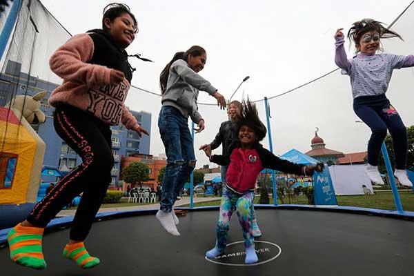 Más de 9 millones de niños hay en el Perú, según el INEI