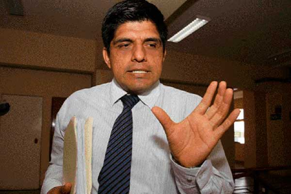 "Quitan caso ""Temerarios del Crimen"" a fiscal Juan Carrasco"