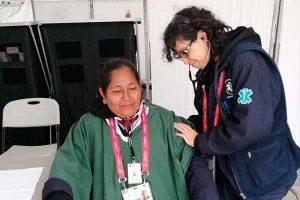 Lima 2019: realizan 542 atenciones médicas