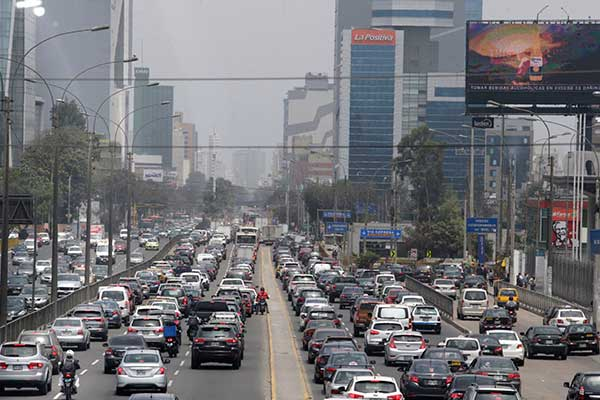 Policía Nacional pide declarar en emergencia el tránsito en Lima