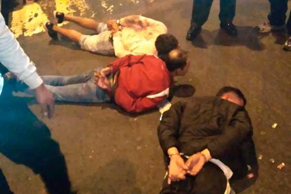 SMP: Banda de venezolanos asaltaba con granadas
