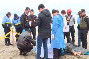 Ventanilla: Hallan cadáver de un hombre a escasos metros del mar