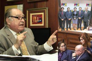 Flores-Aráoz sobre quiebre de bancadas: Ha ocurrido por culpa del TC