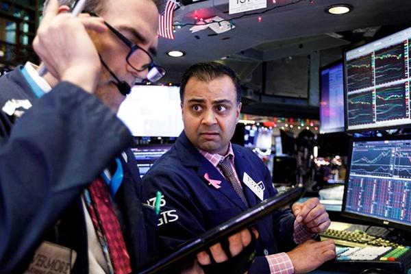 Caen los bonos del Tesoro de EE.UU.