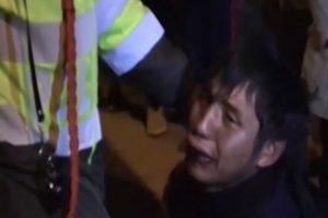 Delincuente rompe en llanto tras ser capturado por la policía en el Cusco