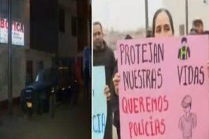 Delincuentes asaltan botica y tras ser vistos disparan contra una mujer