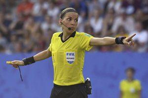 ¡Histórico! Stéphannie Frappart dirigirá la final de UEFA Super Cup