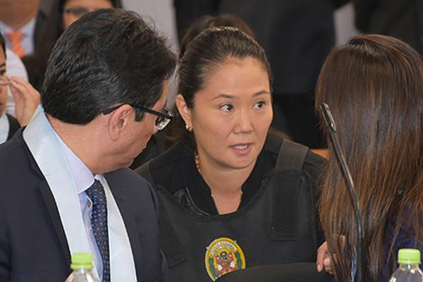 Keiko Fujimori seguirá en penal de Chorrillos