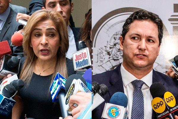 """Maritza García estuvo en la bancada de Salaverry """"por 60 minutos"""""""