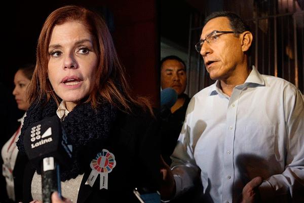 """Araoz: """"El presidente Vizcarra también visitó a PPK"""""""