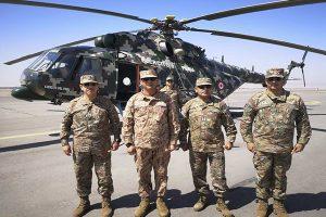 General del Ejército Jorge Céliz visita la III División del Ejército en Tacna