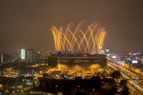 Inauguración de los Juegos Parapanamericanos 2019