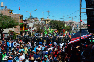 Moquegua: con respaldo del gobernador, hoy inicia paro indefinido contra Quellaveco