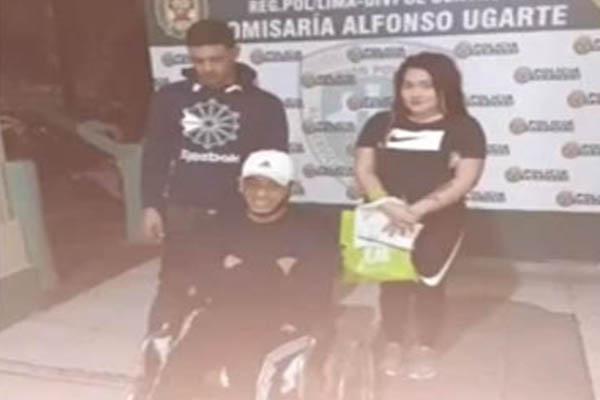Capturan a venezolanos tenderos en el Cercado de Lima