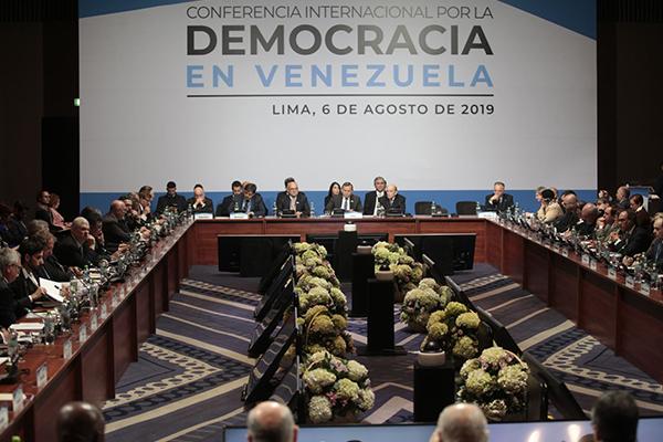 Urgen decisiones sobre Venezuela