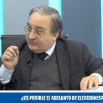 Dra. Beatriz Mejía: ¿es posible el adelanto de elecciones?