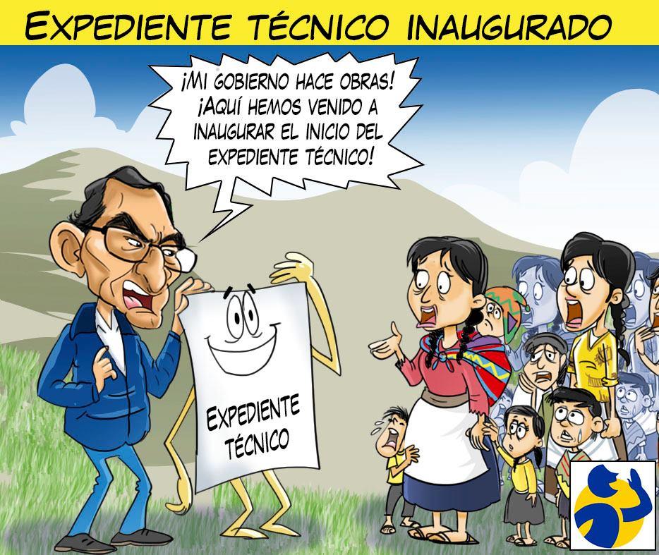 EXPEDIENTE TÉCNICO INAUGURADO, por El Montonero