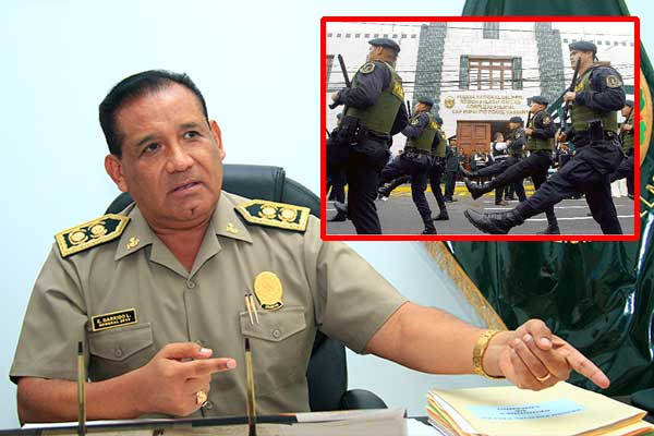 Región Policial Callao recibe 150 efectivos