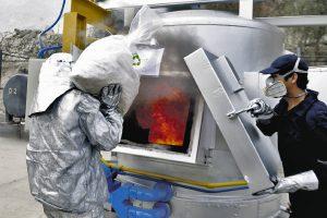 Incineran más de 24 toneladas de drogas