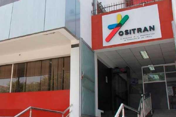 Solo Ositran interpretará contratos de transporte público
