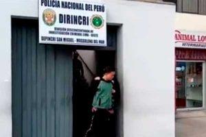 """San Miguel: agentes de la PNP captura a """"Los Chamos de la Estafa"""""""