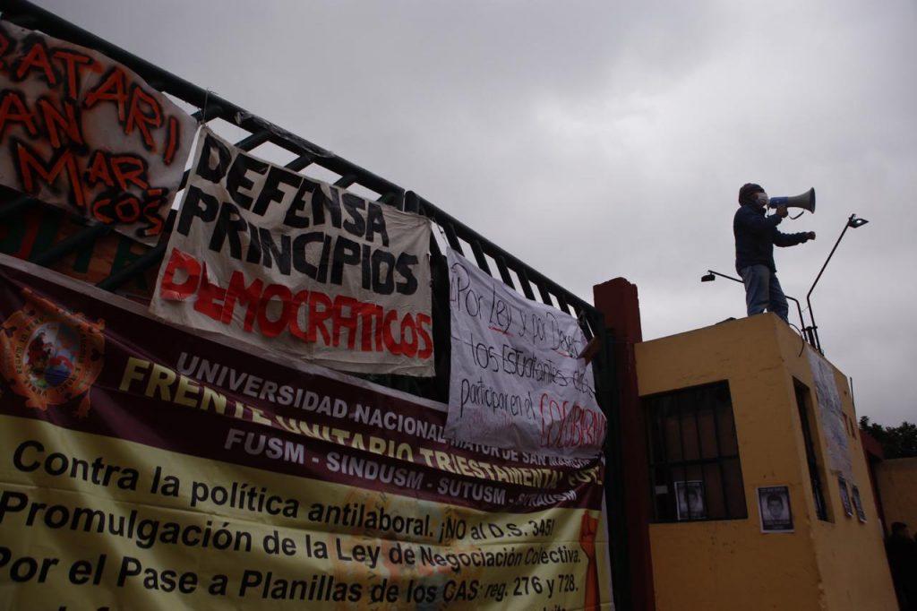 Las claves de la nueva protesta de los alumnos de la UNMSM