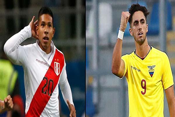 Amistoso Internacional: Perú vs. Ecuador en New Jersey